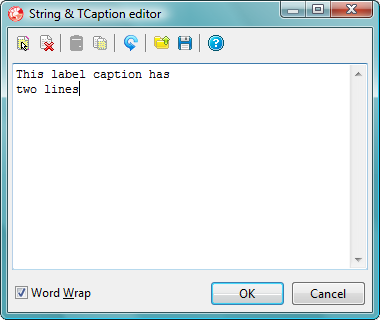 Extended String Property Editor Screen Shot