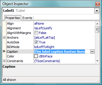 Object Inpsector Screen Shot
